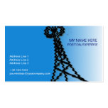 Wireless Industry Business Card, BLUE Pack Of Standard Business Cards