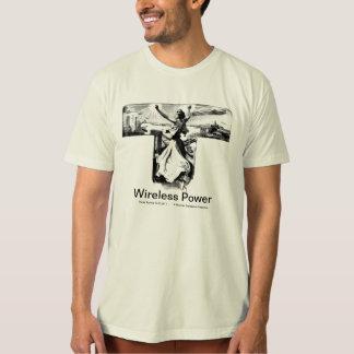 Wireless Power-Nikola Tesla T-shirts