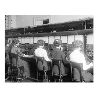 Wires Crossed: 1914 Postcard