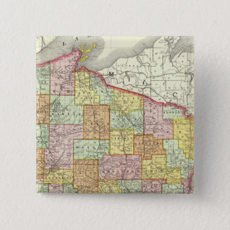 Wisconsin 15 Cm Square Badge