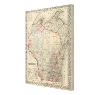 Wisconsin 2 canvas print