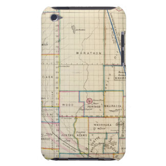 Wisconsin 3 iPod Case-Mate cases