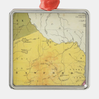 Wisconsin 4 christmas ornament