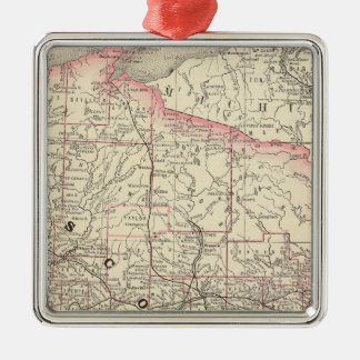 Wisconsin 5 christmas ornament
