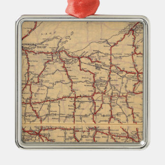 Wisconsin 6 christmas ornament