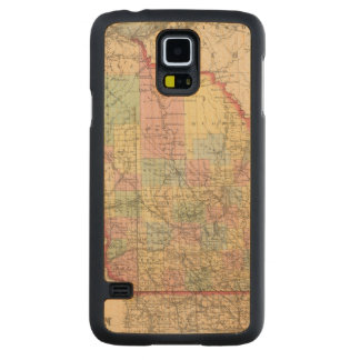 Wisconsin 7 maple galaxy s5 slim case