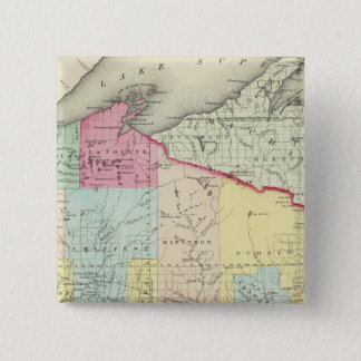 Wisconsin 8 15 cm square badge