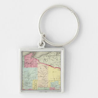 Wisconsin 8 key ring