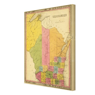 Wisconsin 9 canvas print