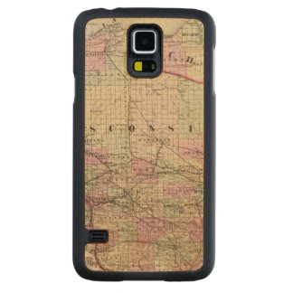 Wisconsin 9 carved maple galaxy s5 case