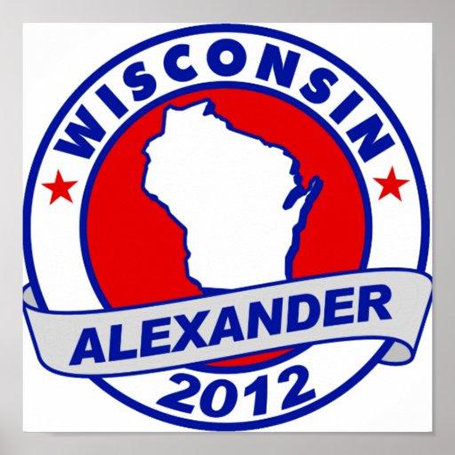 Wisconsin  Alexander Print