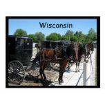 Wisconsin Amish Postcards