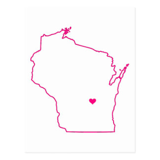 Wisconsin Apparel Postcard