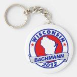Wisconsin Bachmann Key Chains