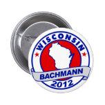 Wisconsin Bachmann Pinback Button