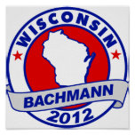 Wisconsin Bachmann Poster