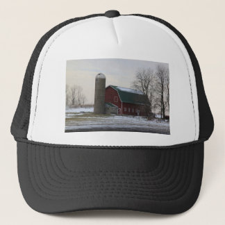 Wisconsin Barn Trucker Hat