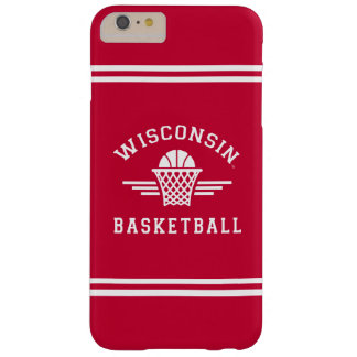 Wisconsin | Basketball Barely There iPhone 6 Plus Case