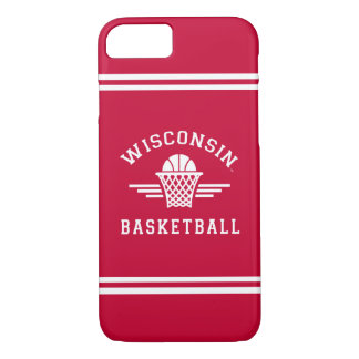 Wisconsin | Basketball iPhone 8/7 Case