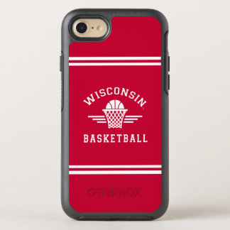 Wisconsin | Basketball OtterBox Symmetry iPhone 8/7 Case