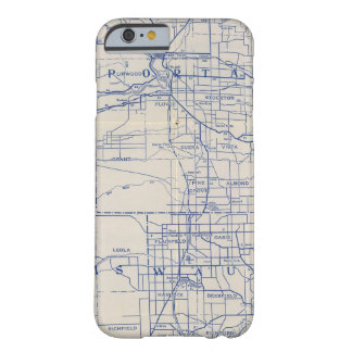 Wisconsin Bicycle Road Map 2 Barely There iPhone 6 Case