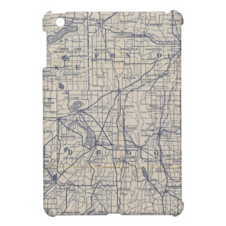 Wisconsin Bicycle Road Map 4 Cover For The iPad Mini