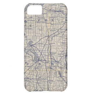 Wisconsin Bicycle Road Map 4 iPhone 5C Case