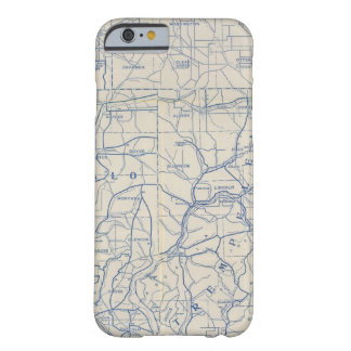 Wisconsin Bicycle Road Map 6 Barely There iPhone 6 Case