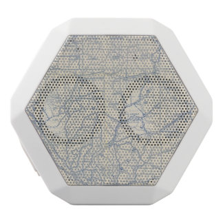 Wisconsin Bicycle Road Map 6 White Boombot Rex Bluetooth Speaker