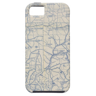 Wisconsin Bicycle Road Map 6 Case For The iPhone 5