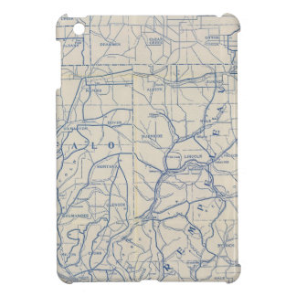 Wisconsin Bicycle Road Map 6 Cover For The iPad Mini