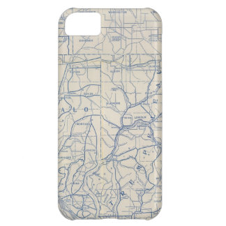 Wisconsin Bicycle Road Map 6 iPhone 5C Case