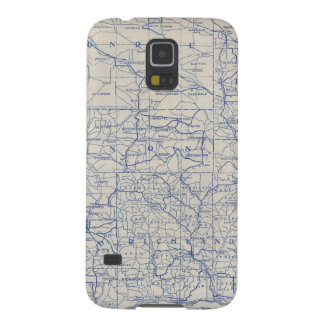 Wisconsin Bicycle Road Map Galaxy S5 Covers