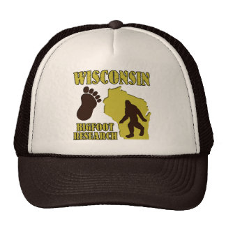 Wisconsin Bigfoot Research Trucker Hats