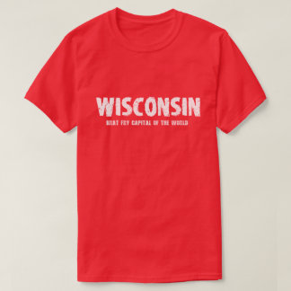 Wisconsin - Brat Fry Capital of the World T-Shirt