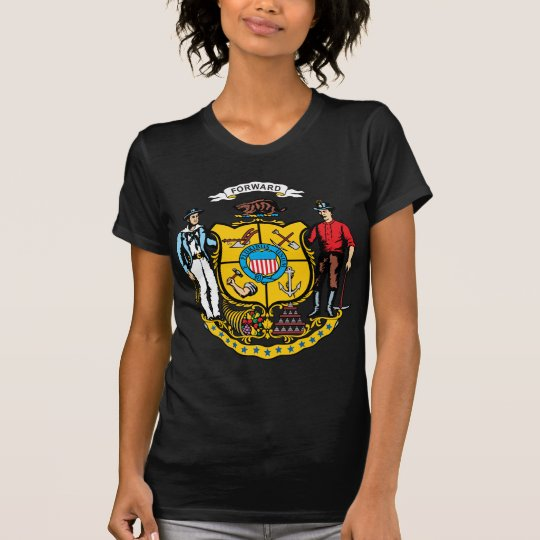 Wisconsin Coat of Arms T-Shirt