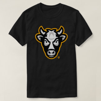 Wisconsin Cow Men's Tee (Black)