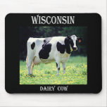 Wisconsin Dairy Cow Mousepads