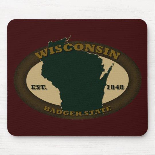 Wisconsin Est. 1848 Mouse Mat