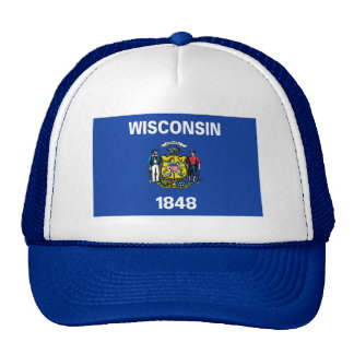 Wisconsin Flag Hat