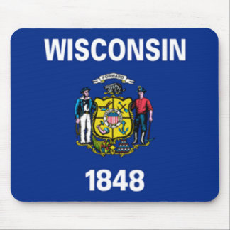 Wisconsin Flag Mousepad