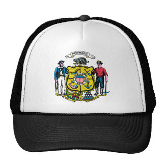 Wisconsin Flag Theme 00 Hats