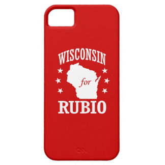 WISCONSIN FOR RUBIO CASE FOR THE iPhone 5