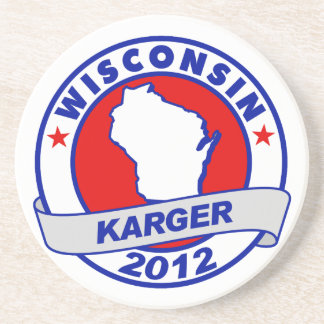 Wisconsin Fred Karger Coasters