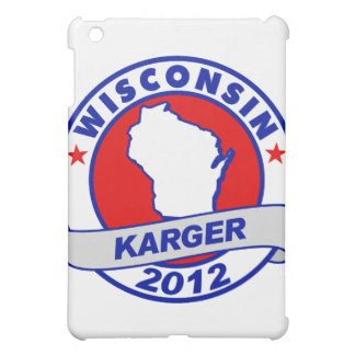 Wisconsin Fred Karger iPad Mini Cases