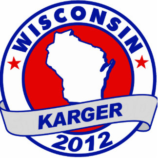 Wisconsin Fred Karger Photo Cutouts