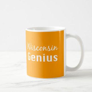 Wisconsin Genius Gifts Basic White Mug