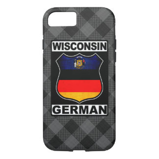 Wisconsin German American iPhone 8/7 Case