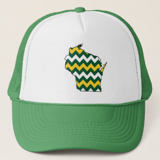 Wisconsin Greenbay Green and Gold Hat