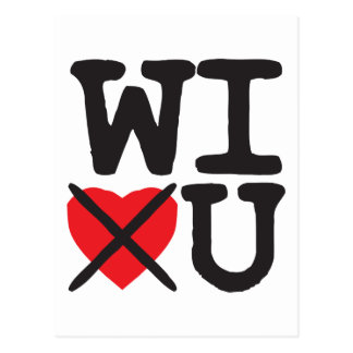 Wisconsin Hates You Postcard